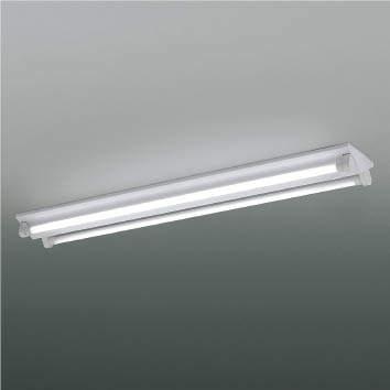 ☆KOIZUMI LEDベースライト FLR40W×2相当 (ランプ付) 電球色 3000K 専用調光器対応 XHE930111+XE41273L