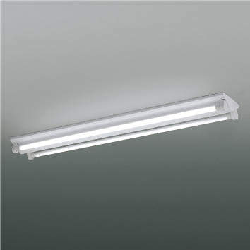☆KOIZUMI LEDベースライト FLR40W×2相当 (ランプ付) 昼光色 6500K 専用調光器対応 XHE930111+XE41276L