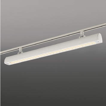 ☆KOIZUMI LEDスポットライト 配線ダクトレール用 FLR40W×2相当 (ランプ付) 電球色 3000K XS44057L+XE44063E