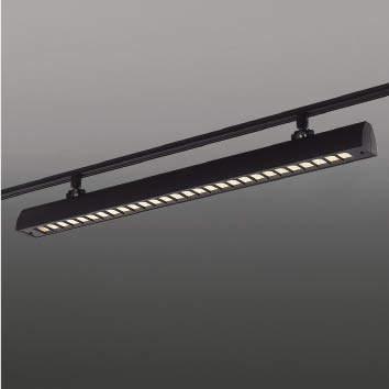 ☆KOIZUMI LEDスポットライト 配線ダクトレール用 FLR40W×2相当 (ランプ付) 電球色 3000K XS44060L+XE44064E