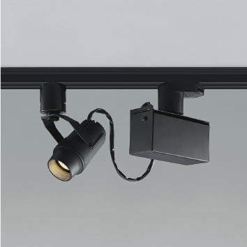 ☆KOIZUMI LEDスポットライト 配線ダクトレール用 JR12V50W相当 (ランプ付) 電球色 2700K 専用調光器対応 XS46286L