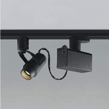 ☆KOIZUMI LEDスポットライト 配線ダクトレール用 JR12V50W相当 (ランプ付) 低色温度 2500K 専用調光器対応 XS48275L