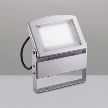☆KOIZUMI LEDエクステリアスポットライト HID70W相当 (ランプ付) 昼白色 5000K XU39031L