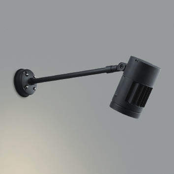 ☆KOIZUMI LEDエクステリアスポットライト HID70W相当 (ランプ付) 電球色 3000K XU44251L
