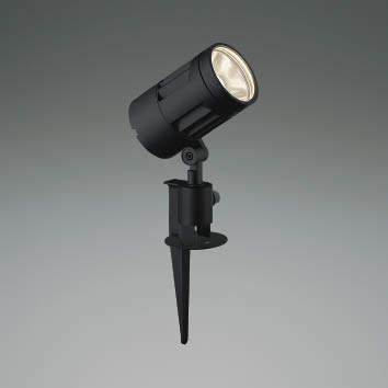 ☆KOIZUMI LEDエクステリアスポットライト HID70W相当 (ランプ付) 電球色 3000K XU44262L
