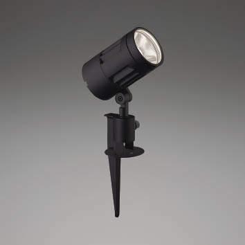 ☆KOIZUMI LEDエクステリアスポットライト HID35W相当 (ランプ付) 白色 4000K XU44318L