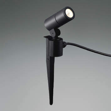 ☆KOIZUMI LEDエクステリアスポットライト JDR50W相当 (ランプ付) 電球色 2700K XU48095L
