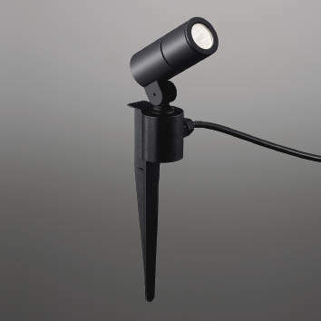 ☆KOIZUMI LEDエクステリアスポットライト JDR50W相当 (ランプ付) 白色 4000K XU48100L