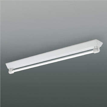 ☆KOIZUMI LED防雨・防湿型ベースライト FLR40W相当 (ランプ付) 昼白色 5000K XU90149L+XE46423L