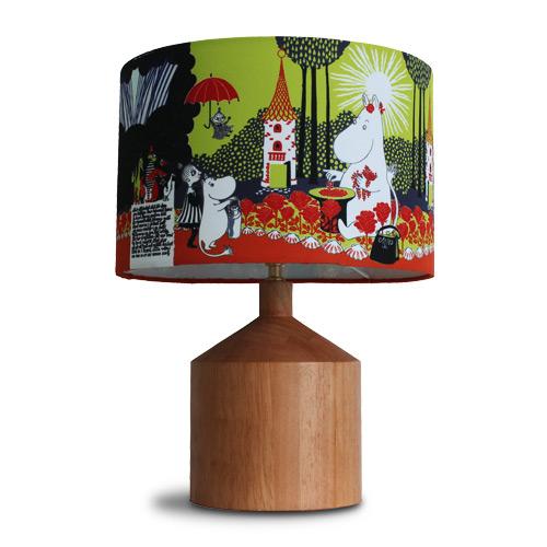 ☆ディクラッセ おしゃれでかわいいテーブルランプ照明 ムーミン谷の切り株 イエロー E17口金 40W 白熱ミニ球(ランプ付) LT3715YE