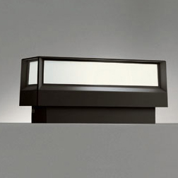 ☆ODELIC LED照明器具 アウトドア 門柱灯 明暗センサ付 LED電球 電球色タイプ ミニクリプトン形5.8W(E17)(ランプ付) 白熱灯40W相当 防雨型 OG042176LD