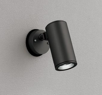 ☆ODELIC LEDエクステリアスポットライト LED一体型 CDM-T35W相当 昼白色 ミディアム配光 本体ブラック 防雨型 壁面・天井面取付兼用 OG254853