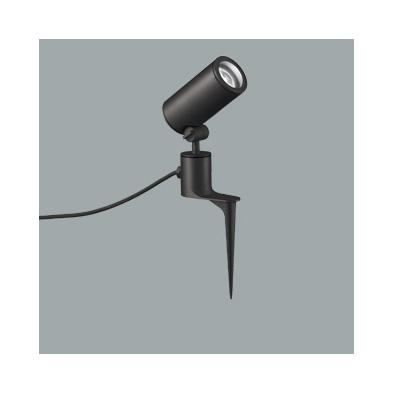 ☆ODELIC LEDエクステリアスポットライト スパイク式 プラグ付キャプタイヤケーブル LED一体型 CDM-T35W相当 昼白色 ミディアム配光 本体ブラック 防雨型 OG254861