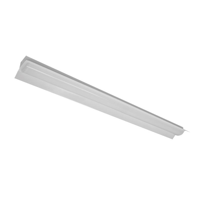 ☆NEC LED一体型ベース照明 Nuシリーズ 両反射笠形 40形 ホタルックタイプ 固定出力 100V~242V FHF32定格出力×2灯相当 昼白色 ライトユニット付き MAB410152N4SGN8(AB401501+DLU45204NSGN8)