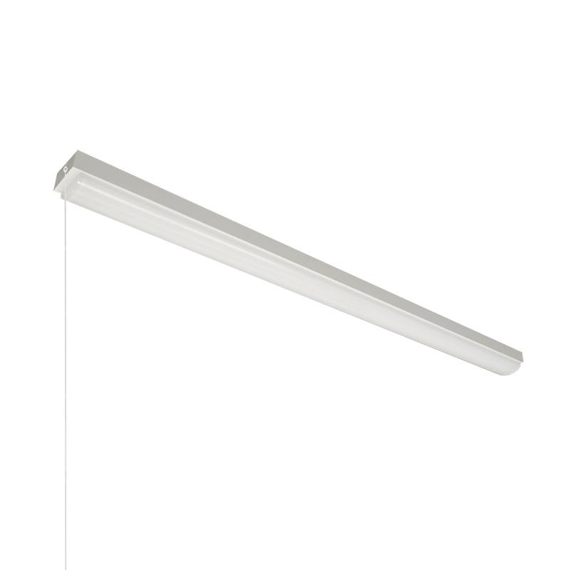 ☆NEC LED一体型ベース照明 Nuシリーズ トラフ形 40形 ホタルックタイプ 固定出力 100V~242V FLR40×2灯相当 昼白色 ライトユニット付 プルスイッチ付 MMB4101P40N4SGN8(MB40P0701+DLU44004NSGN8)