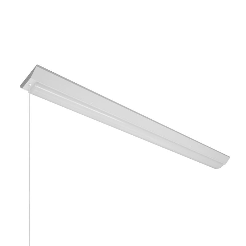 ☆NEC LED一体型ベース照明 Nuシリーズ 逆富士形 40形 ホタルックタイプ 連続調光 100V~242V FHF32高出力×2灯 昼白色 ライトユニット付 プルスイッチ付 MVB4104P69N4SGNX8(VB40P1504+DLU46904NSGNX8)
