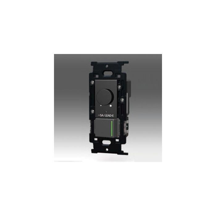 ☆神保電器 NKシリーズ配線器具 正位相制御方式埋込ライトコントロール +3路ガイドランプ付きスイッチ LEAD-E AC100V 500VA 5A ライトコントロール500W ソフトブラック NKWRLE5S3GSB ※受注生産品