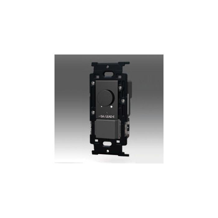 ☆神保電器 NKシリーズ配線器具 正位相制御方式埋込ライトコントロール+3路スイッチ LEAD-E AC100V 500VA 5A ライトコントロール500W ソフトブラック NKWRLE5S3SB ※受注生産品
