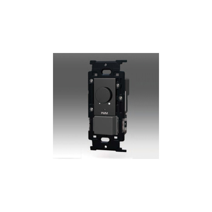 ☆神保電器 NKシリーズ配線器具 PWM制御方式(1ch)埋込ライトコントロール+3路スイッチ PWM AC100V~254V 信号線出力200mAまで ソフトブラック NKWRPWM1S3SB ※受注生産品