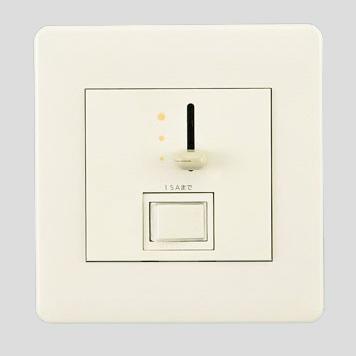 ☆パナソニック フルカラー配線器具 ライトコントロール・信号線式(LED・インバータ蛍光灯用) フルカラーモダンプレートタイプ スイッチC(3路)付 スライド式 ボルトフリー(AC100V~242V) 15A NQ21532U
