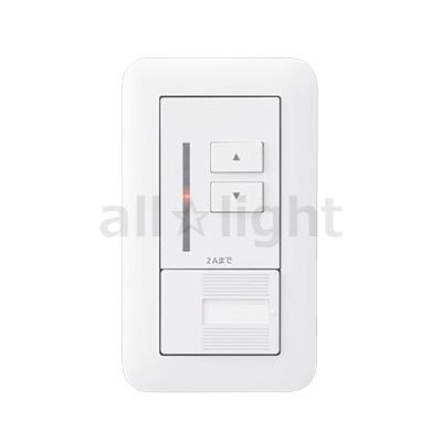 ☆パナソニック コスモシリーズワイド21 ライトコントロール LED(LC・LG)用 壁埋込型 AC100V 2A スイッチC(3路)付 NQ20346