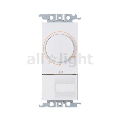 ☆パナソニック コスモシリーズワイド21 ライトコントロール 信号線式 LED(LD・LV)・インバータ蛍光灯(EDH)用 AC100V 15A スイッチC(3路)付 プレートなし NQ20356