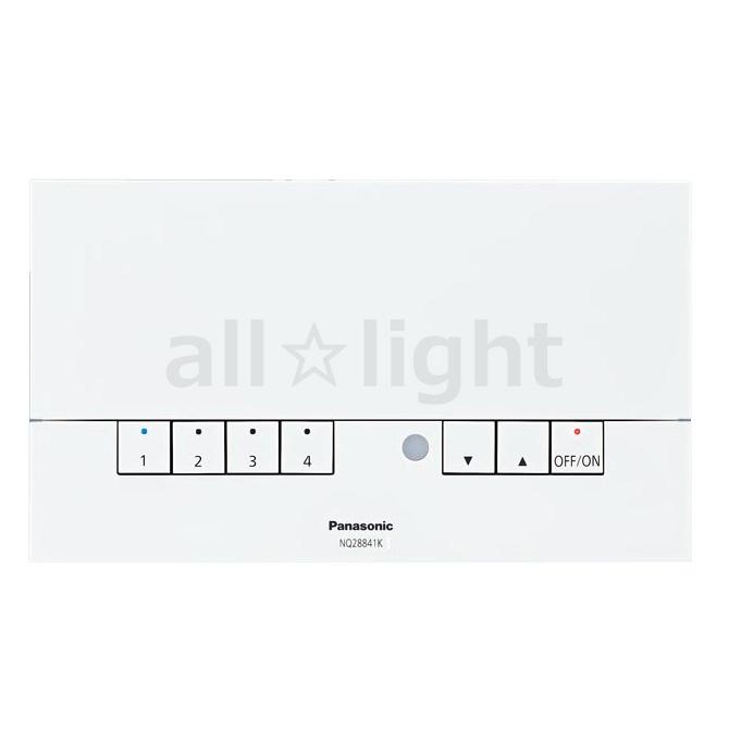 国内最安値! パナソニック ライトコントロール ライトマネージャーFx 本体 記憶式4回路親器(親機) 壁埋込型 AC100V NQ28841K, 京都の仏具屋さん 香華堂 8d9708c9