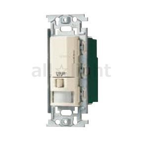 明るさセンサ・手動スイッチ付 パナソニック ミルキーホワイト フルカラー配線器具 3A WN5640K 100V 蛍光灯(インバータ含む)・白熱灯・換気扇用 親器 屋内用 壁取付熱線センサ付自動スイッチ AC 多箇所検知形(4線式)