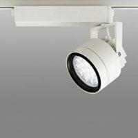 ☆ODELIC LEDスポットライト 配線ダクトレール用 CDM-T70W相当 オフホワイト 20° 電球色 3000K  調光非対応 XS256234 ※受注生産品