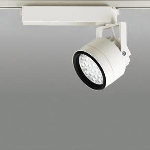 ☆ODELIC LEDスポットライト 配線ダクトレール用 CDM-T70W相当 アイボリーホワイト 14° 温白色 3500K  調光非対応 XS256321 ※受注生産品