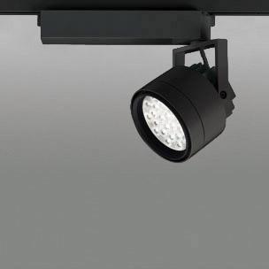 ☆ODELIC LEDスポットライト 配線ダクトレール用 CDM-T70W相当 ブラック 14° 温白色 3500K  調光非対応 XS256322 ※受注生産品