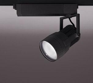 ☆ODELIC LEDスポットライト 高彩色タイプ 配線ダクトレール用 CDM-T70W相当 ブラック スプレッド 38VA 温白色 3500K 調光非対応 XS411158H