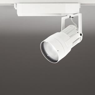 ☆ODELIC LEDスポットライト 高効率タイプ 配線ダクトレール用 CDM-T70W相当 オフホワイト 22° 38VA 昼白色 5000K 調光非対応 XS411192