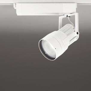 ☆ODELIC LEDスポットライト 高効率タイプ 配線ダクトレール用 CDM-T70W相当 オフホワイト 52° 29VA 昼白色 5000K 調光非対応 XS411199