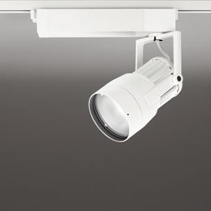 ☆ODELIC 生鮮用LEDスポットライト 配線ダクトレール用 CDM-T35W相当 オフホワイト 52° 38VA 3500K 調光非対応 XS411207