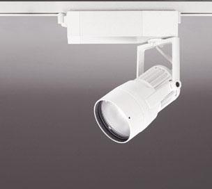 ☆ODELIC LEDスポットライト 高効率タイプ 配線ダクトレール用 CDM-T35W相当 オフホワイト 22° 29VA 温白色 3500K 調光非対応 XS412139