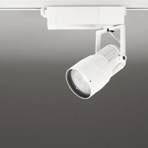 ☆ODELIC 生鮮用LEDスポットライト 配線ダクトレール用 JDR75W相当 オフホワイト 31° 29VA 3500K 調光非対応 XS412175