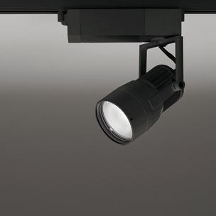 ☆ODELIC 生鮮用LEDスポットライト 配線ダクトレール用 JDR75W相当 ブラック 22° 29VA 3500K 調光非対応 XS412174