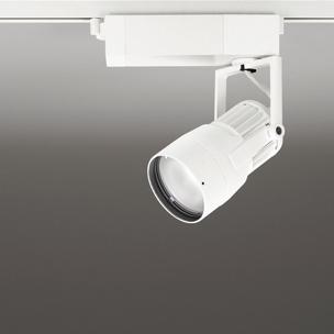 ☆ODELIC LEDスポットライト 高効率タイプ 配線ダクトレール用 CDM-T35W相当 オフホワイト 31° 29VA 昼白色 5000K 調光非対応 XS412188
