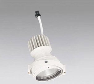 ☆ODELIC LEDマルチユニバーサル灯体 高彩色タイプ CDM-T35W相当 オフホワイト スプレッド 白色 4000K 専用調光器対応(ハウジング・電源別売) XS412325H