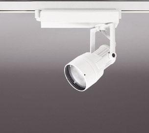 ☆ODELIC LEDスポットライト 高彩色タイプ 配線ダクトレール用 JR12V50W相当 オフホワイト 21° 25VA 白色 4000K 調光非対応 XS413107H