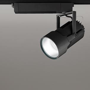 ☆ODELIC LEDスポットライト 高彩色タイプ 配線ダクトレール用 セラメタ150W相当 ブラック 34° 86VA 白色 4000K 調光非対応 XS414004H