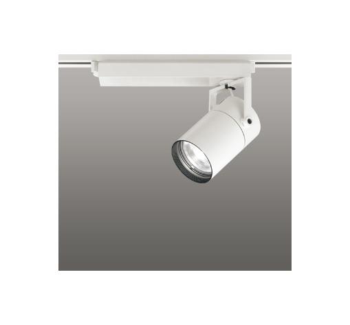 ☆ODELIC LEDスポットライト 配線ダクトレール用 CDM-T70W相当 オフホワイト 15° 温白色 3500K  調光非対応 XS511103