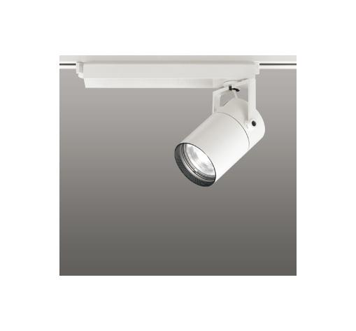 ☆ODELIC LEDスポットライト 配線ダクトレール用 CDM-T70W相当 オフホワイト 15° 温白色 3500K  専用調光リモコン対応(リモコン別売) XS511103BC