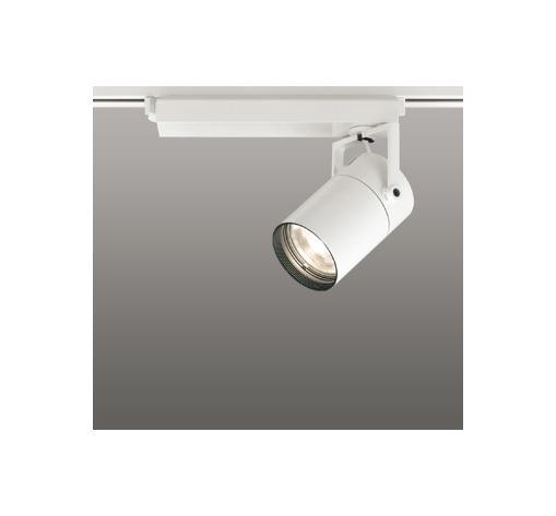 ☆ODELIC LEDスポットライト 高彩色タイプ 配線ダクトレール用 CDM-T70W相当 オフホワイト 15° 電球色 3000K  調光非対応 XS511105H
