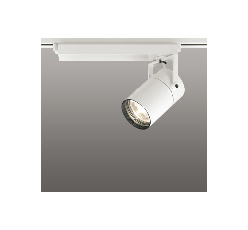 ☆ODELIC LEDスポットライト 高彩色タイプ 配線ダクトレール用 CDM-T70W相当 オフホワイト 15° 電球色 3000K  専用調光リモコン対応(リモコン別売) XS511105HBC