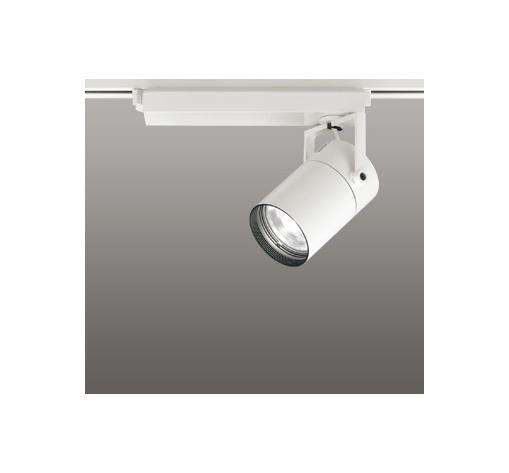 ☆ODELIC LEDスポットライト 高彩色タイプ 配線ダクトレール用 CDM-T70W相当 オフホワイト 23° 白色 4000K  調光非対応 XS511107H
