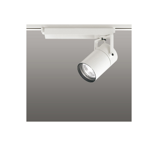 ☆ODELIC LEDスポットライト 配線ダクトレール用 CDM-T70W相当 オフホワイト 23° 温白色 3500K  調光非対応 XS511109