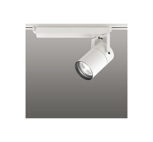 ☆ODELIC LEDスポットライト 配線ダクトレール用 CDM-T70W相当 オフホワイト 23° 温白色 3500K  専用調光リモコン対応(リモコン別売) XS511109BC