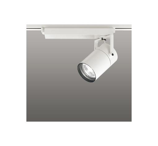 ☆ODELIC LEDスポットライト 高彩色タイプ 配線ダクトレール用 CDM-T70W相当 オフホワイト 23° 温白色 3500K  調光非対応 XS511109H